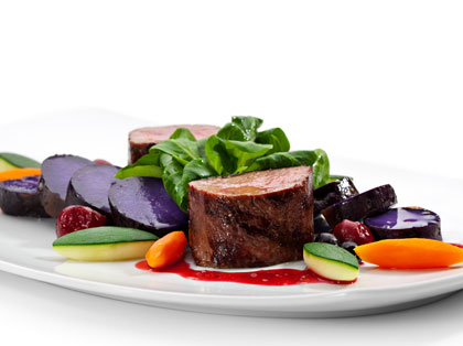 pan fried wild venison - game meat online from Fare Game