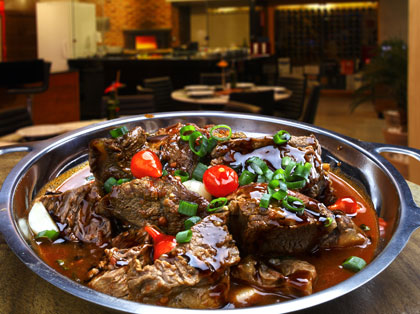 wild goat goulash - game meat online from FareGame
